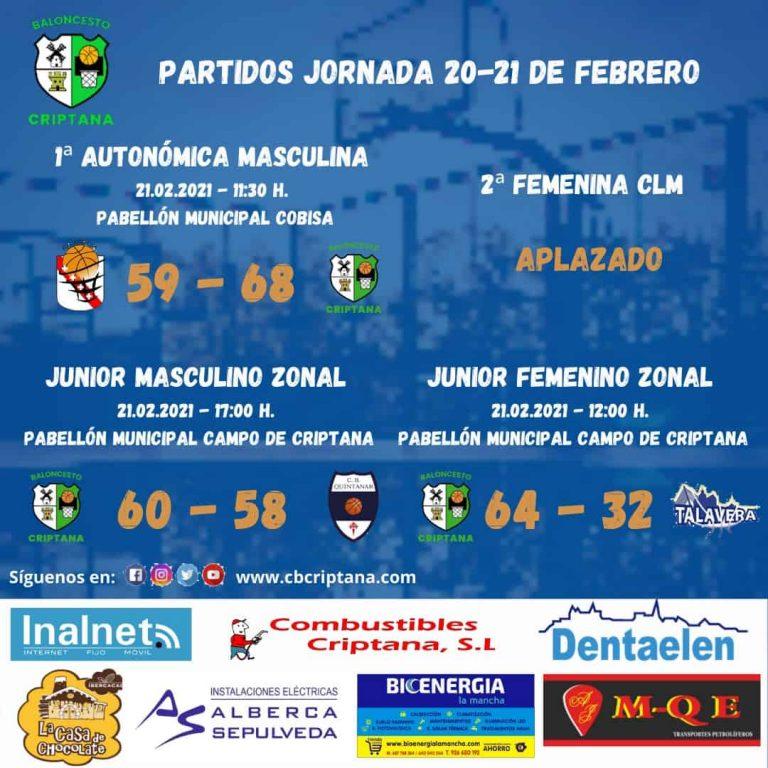 Nuevas victorias para los equipos federados del Baloncesto Criptana