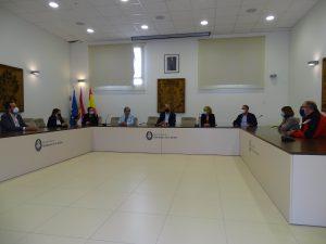 Homenajeados trabajadores jubilados en 2020 del Ayuntamiento de Quintanar de la Orden