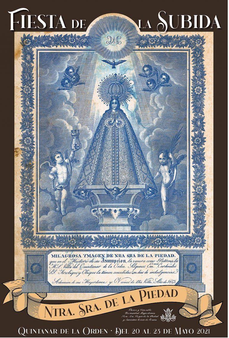 Quintanar de la Orden honrará a su patrona, la Virgen de la Piedad, en la Fiesta de la Subida