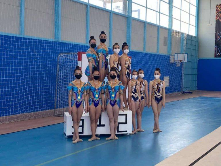 Las gimnastas de Quintanar de la Orden siguen cosechando éxitos en diferentes campeonatos
