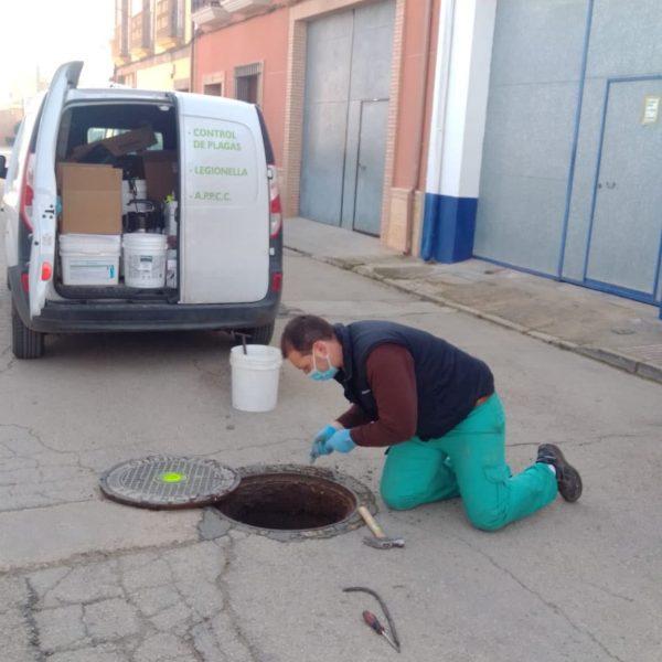 El Ayuntamiento de Quintanar de la Orden continúa con las labores de desinfección, desinsectación y desratización