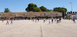 Tenis y patinaje, actividades deportivas centrales en Quintanar el fin de semana