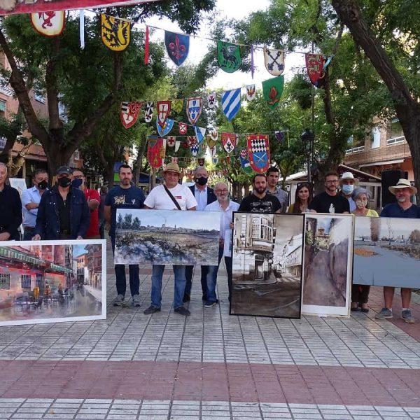 El Arte resurge en las calles de Quintanar de la Orden gracias al IV Certamen de Pintura Rápida