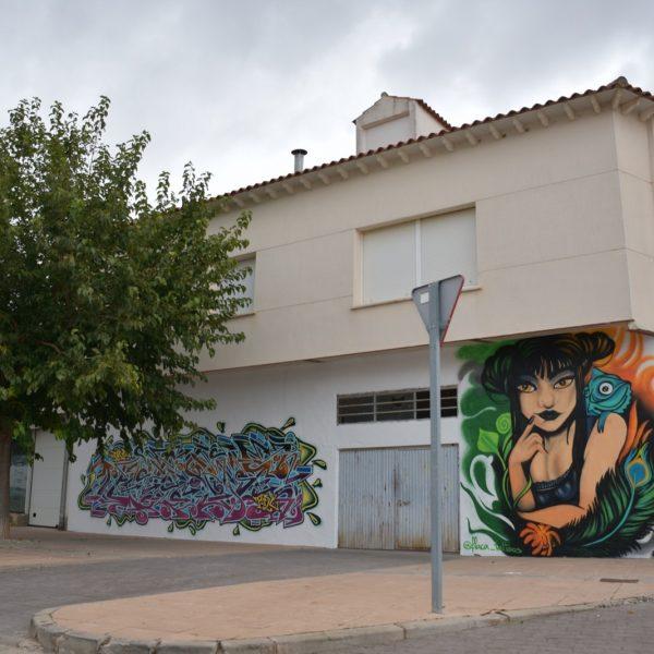 V Exhibición de Graffiti y Arte Urbano en Quintanar de la Orden