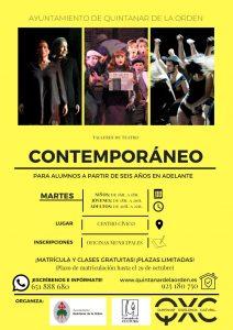 Quintanar comienza con Talleres de Teatro Contemporáneo para todas las edades